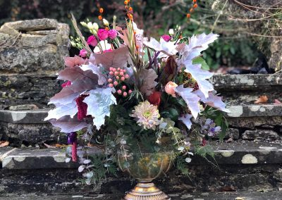 autumnal table decor_pastel_autumn_table_Old Swan_Enchanted Floristry