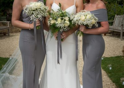 white bridesmaids bouquets_white_winter_bridesmaids_Enchanted Floristry_South West Photography_Oxleaze Barn